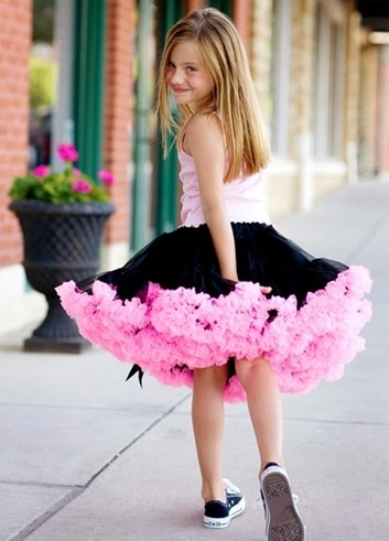c7dd9f72491 The skirt will also get more use than a traditional flower girl dress  because girls will wear it to other events